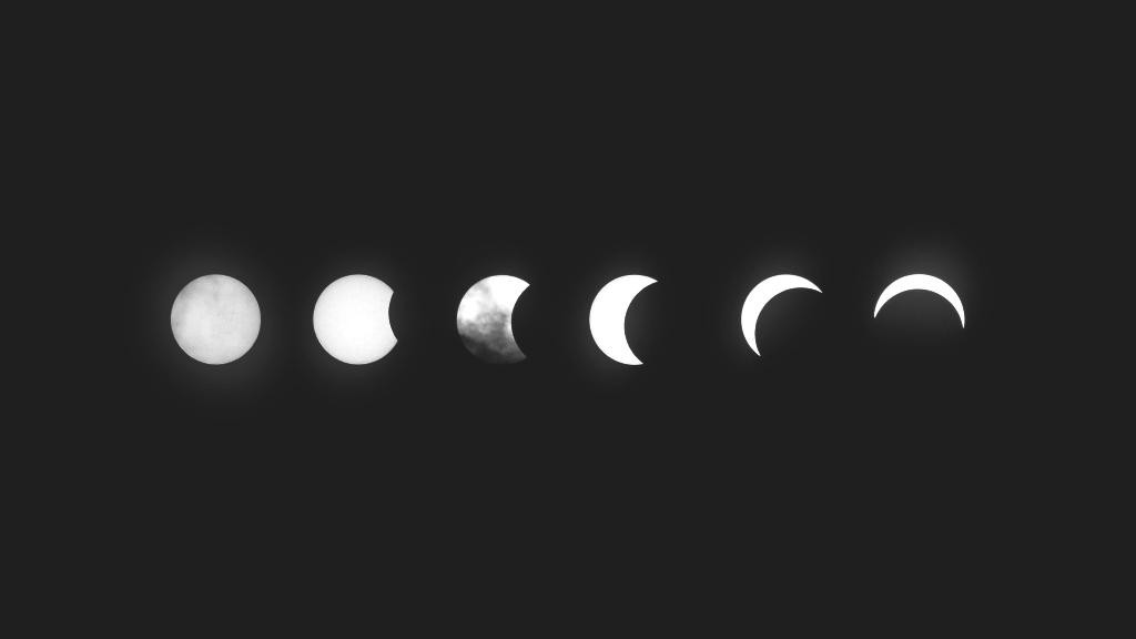 la luna e l sul